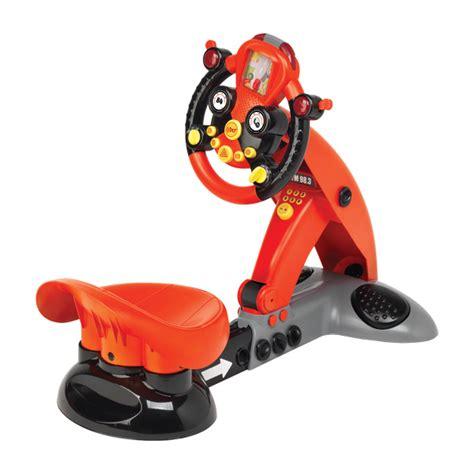 volant pour siege auto volant racing simulateur logitoys king jouet porteurs