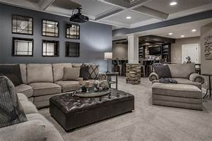 This Remodeled Basement Is The Life Of The Party