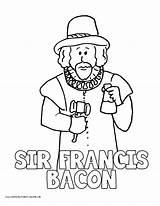 Coloring Drake Bacon Francis Sir Printable History Volume Colorings Homeschool Printables Getcolorings Getdrawings sketch template