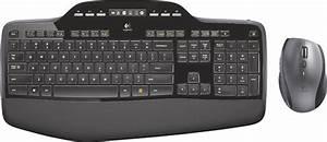 Logitech Wireless Desktop Mk710 Keyboard And Mouse Black