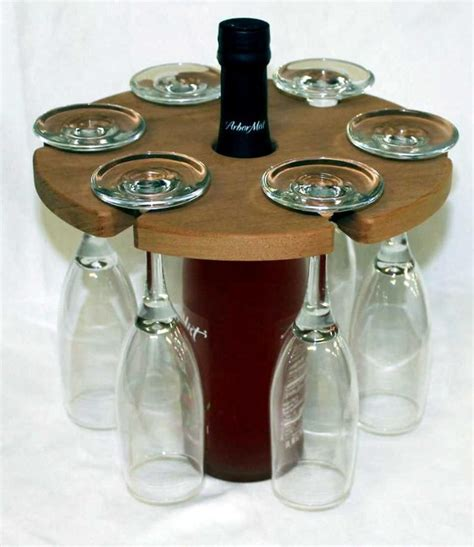 About 3% of these are storage holders & racks, 29% are storage bottles & jars, and 2% are storage boxes & bins. Wine Glass Caddy Holds 6 glasses   Etsy   Glass, Coffee maker