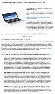 Ultrabook Pas Cher : asus s56cm xo250h ultrabook geforce windows prix pas cher ~ Melissatoandfro.com Idées de Décoration