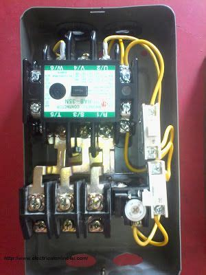 wire contactor  overload relay contactor