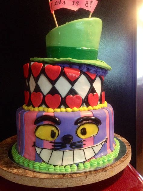 Check spelling or type a new query. Alice in Wonderland Topsy Turvy Cake   Cake, Cupcake cakes ...