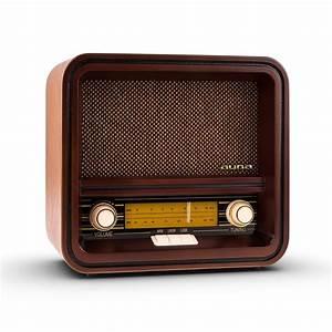 Poste Radio Vintage : auna belle epoque 1901 poste radio r tro style vintage ann es 30 avec ch ssis en bois tuner ~ Teatrodelosmanantiales.com Idées de Décoration