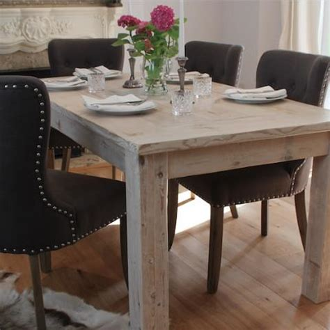 all wood dining table scandinavian furniture reclaimed wood dining table