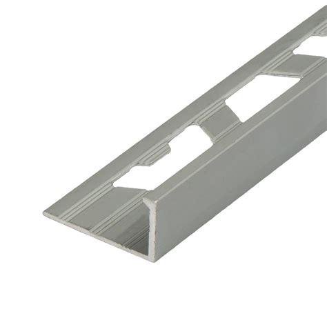 matt anodised aluminium square edge tile trim tiling