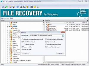 seagate file recovery download With download document recovery software