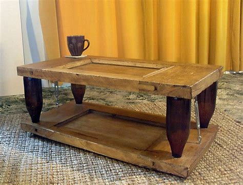 See more ideas about coffee table, coffee table wood, coffee table square. Ten Green Coffee Table - from reclaimed timber and glass bottles | Your Projects@OBN