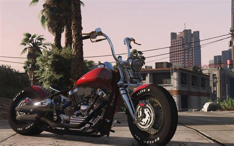 Harley Davidson by Harley Davidson Knucklehead Animated Replace Gta5