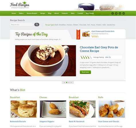 recherche recettes de cuisine 14 thèmes pour votre site de recettes de cuisine
