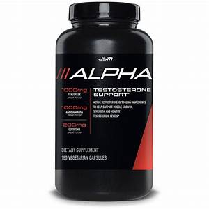 Buy Alpha Jym Test Booster  Free Uk P U0026p On Orders Over  U00a340