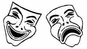 Greek theatre masks clipart best for Ancient greek mask template