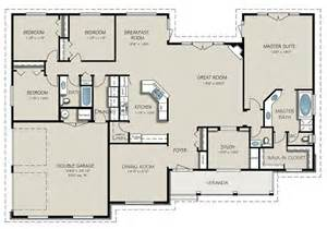 Country Style House Floor Plans Country Style House Plan 4 Beds 3 Baths 2563 Sq Ft Plan 427 8 Floor Plan Floor Plan