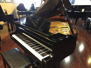 "Yamaha - Model GH1 5'3"" polished ebony grand piano **SOLD ..."