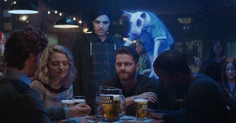 new bud light commercial spuds mackenzie dog returns in new bud light super bowl