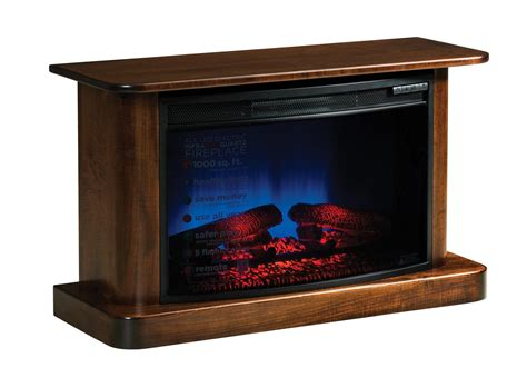 lancaster electric fireplace  dutchcrafters amish