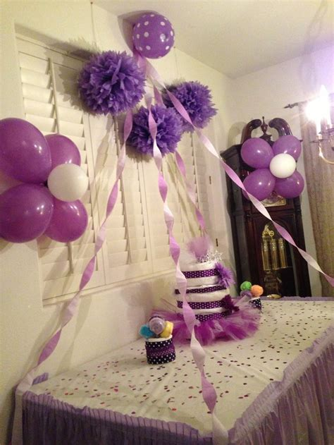 Decorating Ideas For Baby Shower by Baby Shower Ideas Purple Theme Shoults Lol