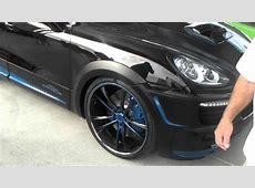 Dubsandtirescom Porsche Cayenne On 24'' Inch Asanti Black