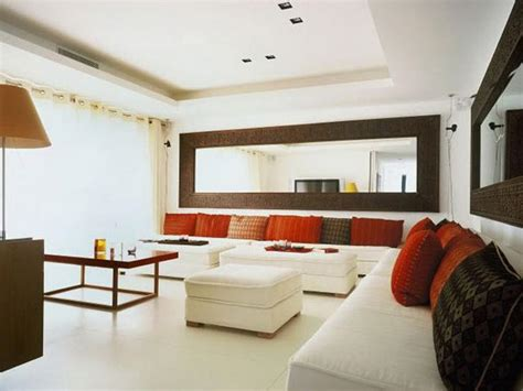 Decorating Ideas Walls Living Room by Decorative Large Wall Mirrors Large Living Room