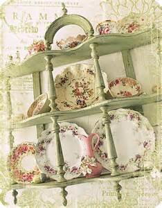 green shabby chic shabby chic green lets do tea pinterest