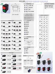 R13  Rocker Switch    Car Switches    Bentex