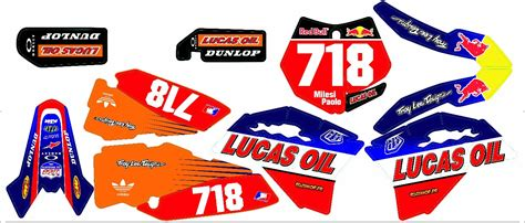 bull decal kit for 2014 ktm 250 autos post