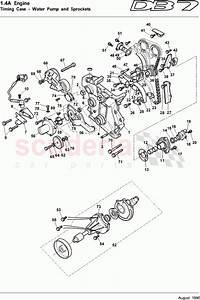 Aston Martin Db7  1995  Timing Case