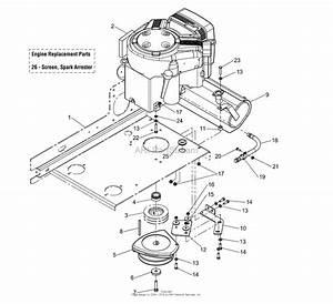 Simplicity 2690445   52 U0026quot  Mower Parts Diagram