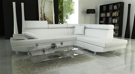 canape design blanc photos canapé d 39 angle cuir blanc design
