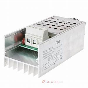 Wiring For 10000w 220v Scr Voltage Regulator Speed