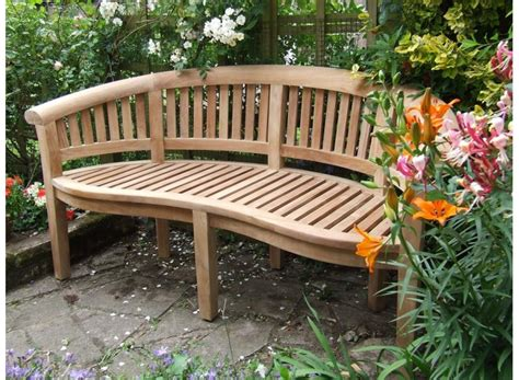 curved outdoor bench and their features household tips