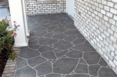 patio floor painted concrete back porch painted