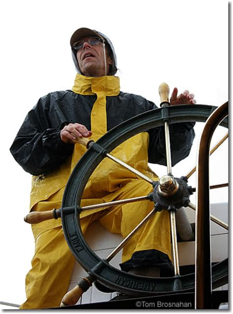 Maine Windjammer Helmsman