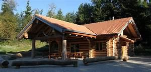 alibert sarl construction diverses en bois rond fuste ou With maison rondin bois prix 10 table de restaurant