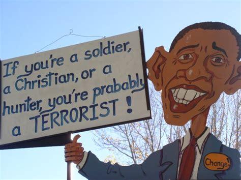 signs state washington obama seattle road anti wa libertarian i5 bravo unproven woman near