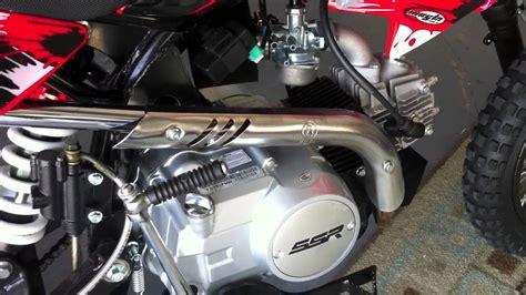 cc ssr dirt bike pit motorcycle kick start problem