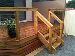 Cheap And Simple Deck Stair Railing Railing Stairs And