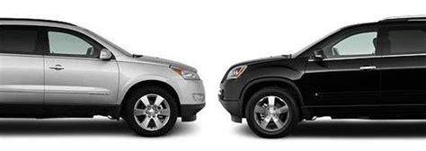 gm suv face   chevy traverse  gmc acadia