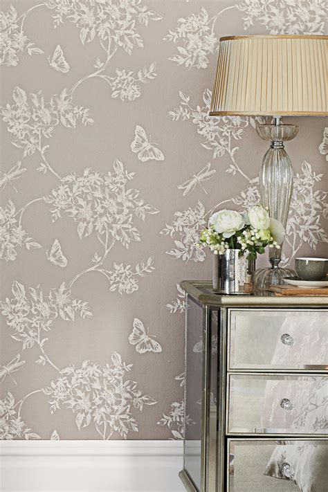 buy butterfly trail wallpaper    uk  shop
