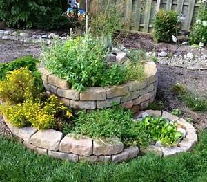 Kräuterspirale Für Balkon : kr uterspirale natursteine f r au en garden pinterest ~ Michelbontemps.com Haus und Dekorationen