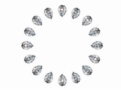 Diamonds Circle Sparkle Shape Fancy Jewelry Friend
