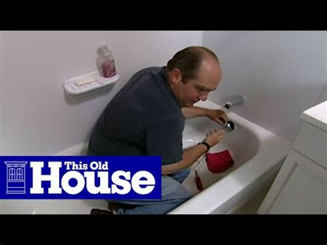 how to fix a clogged shower how to clear a clogged bathtub drain