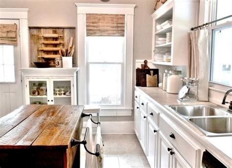ilot de cuisine antique meuble vintage en cuisine 30 photos d 39 îlots très stylés