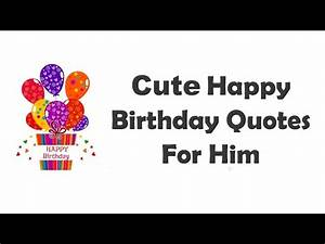 Happy Birthday Quotes For Boyfriend Or Husband Wi ...