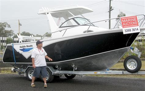 Rivergate Boat Auctions Brisbane by Marine Auctions 1 Reserve Auction On Noble Brand Boats