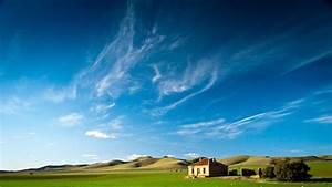 蔚蓝天空壁纸【高清风景桌面壁纸 美丽风光】-电脑桌面壁纸下载 图片 背景 墙纸