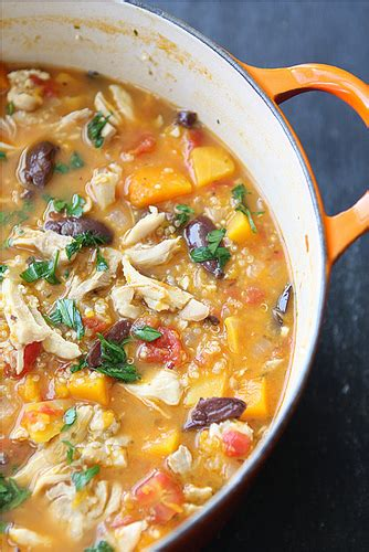 cookin canuck hearty chicken stew  butternut squash