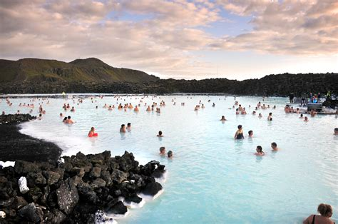 Unbelievable Blue Lagoon At Night