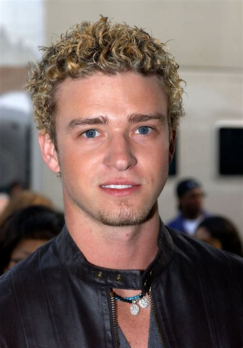 pulled  frosted tips sexy justin timberlake pictures popsugar celebrity
